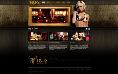 Image for Racks Web Design Concept