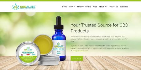 CBD Allies Website
